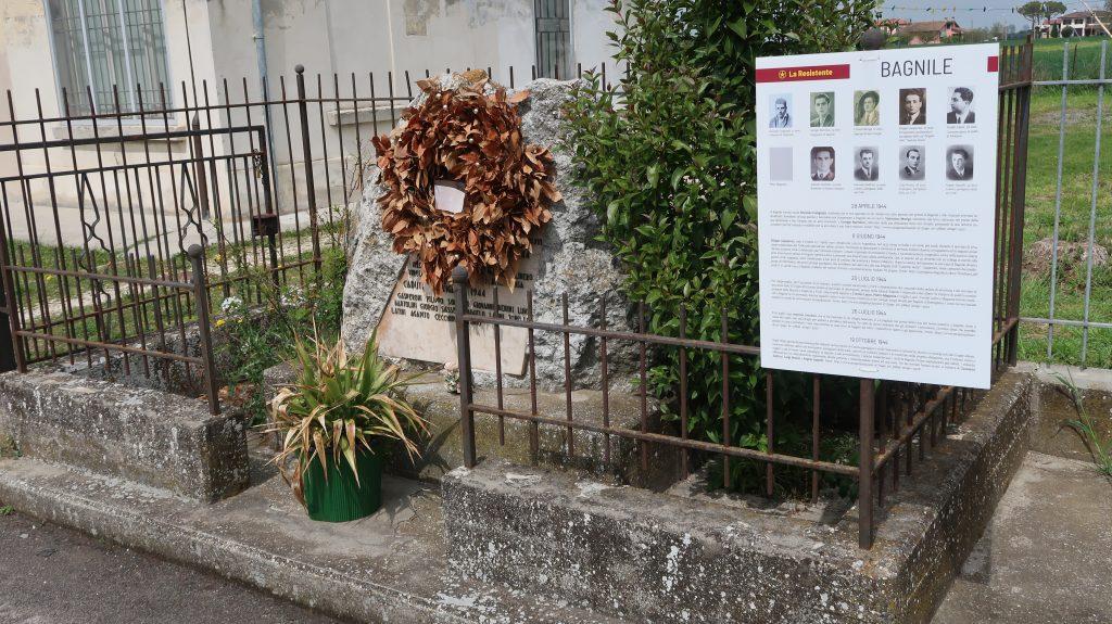 Via Rovescio 2025: Cippo ai Caduti di Bagnile